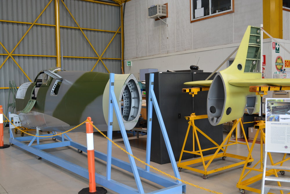 Fuselage and tail group