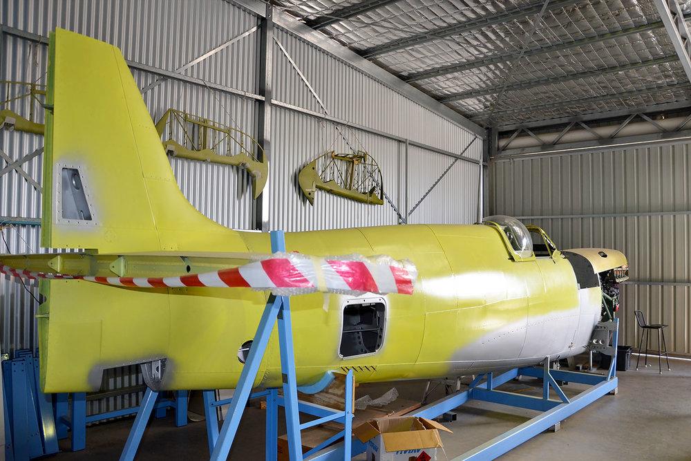 Mh603 fuselage