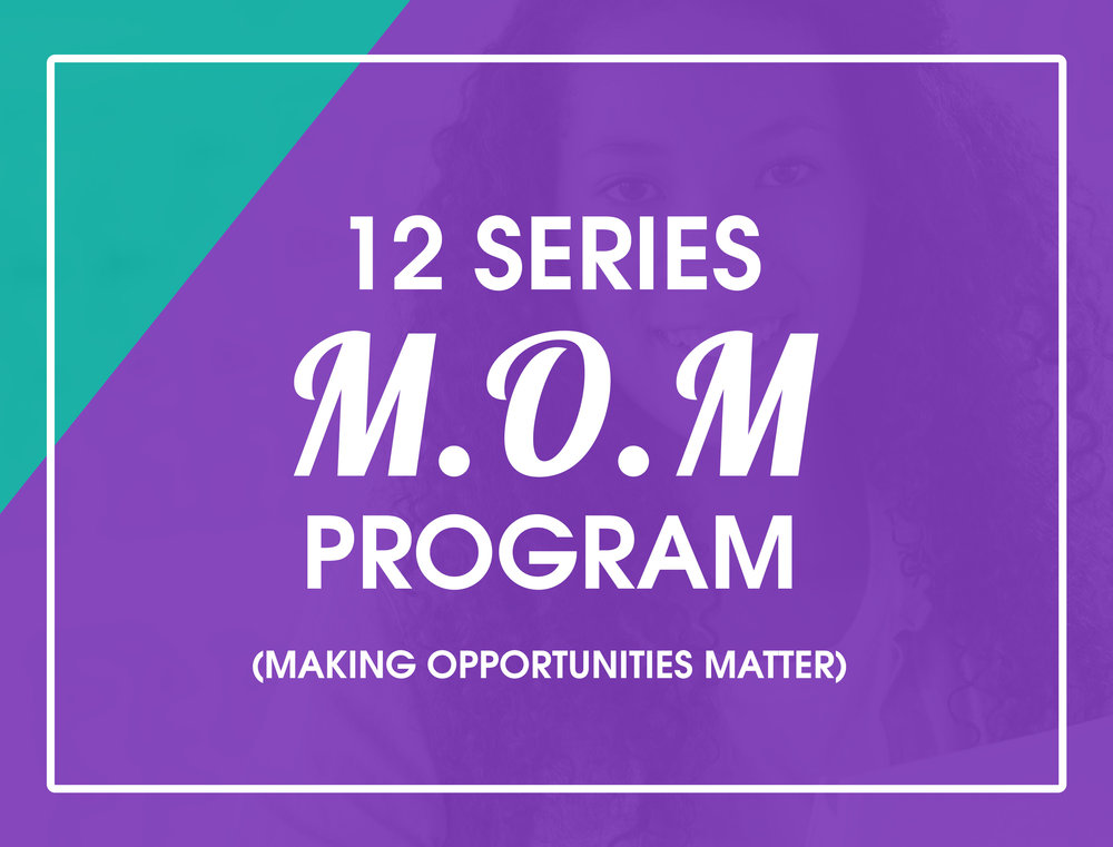 Program for teen mothers designed to reduce subsequent pregnancies, while increasing goal accomplishment, character development, and academic success.