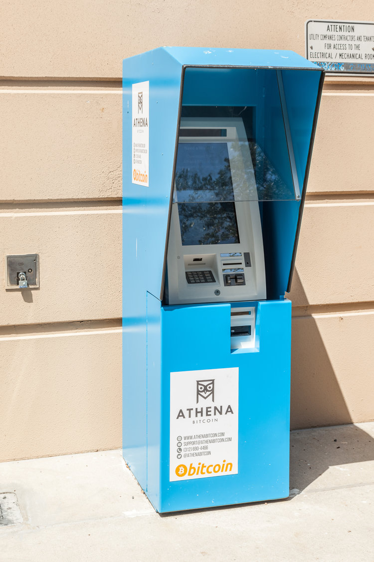 Our outdoor 24-7 ATM's are easily found by looking for the sturdy blue enclosures!