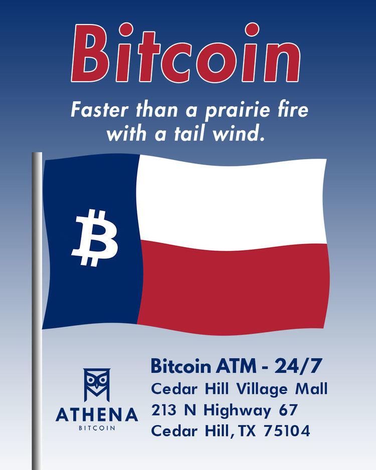 Cedar Hill TX Cedar Hill Village Mall Athena Bitcoin