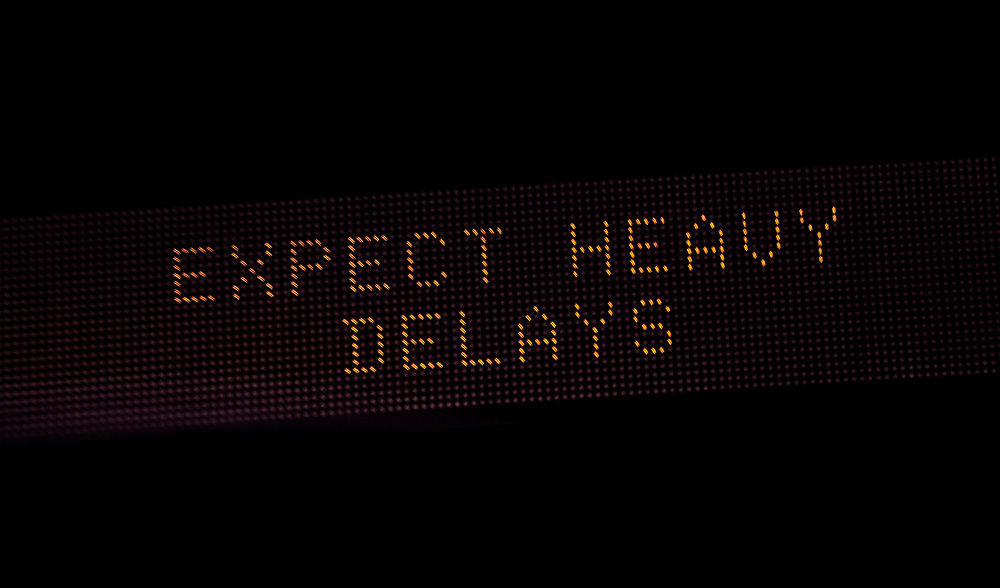 Expect_Heavy_Delays_Traffic_Sign_(24011850854).jpg