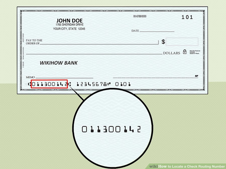 WikiHow's guide for finding your bank routing number