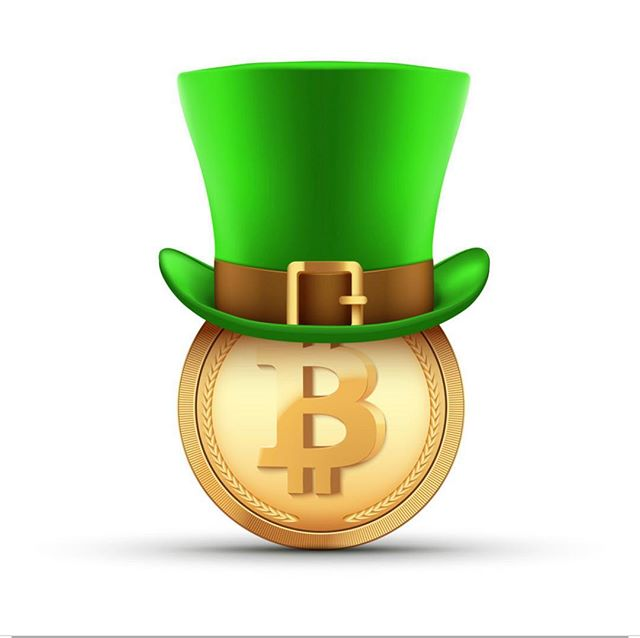 #happystpatricksday #bitcoin from #chicago