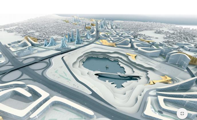 New Cityscape. The Kartal-Penkik masterplan by Zaha Hadid Architects