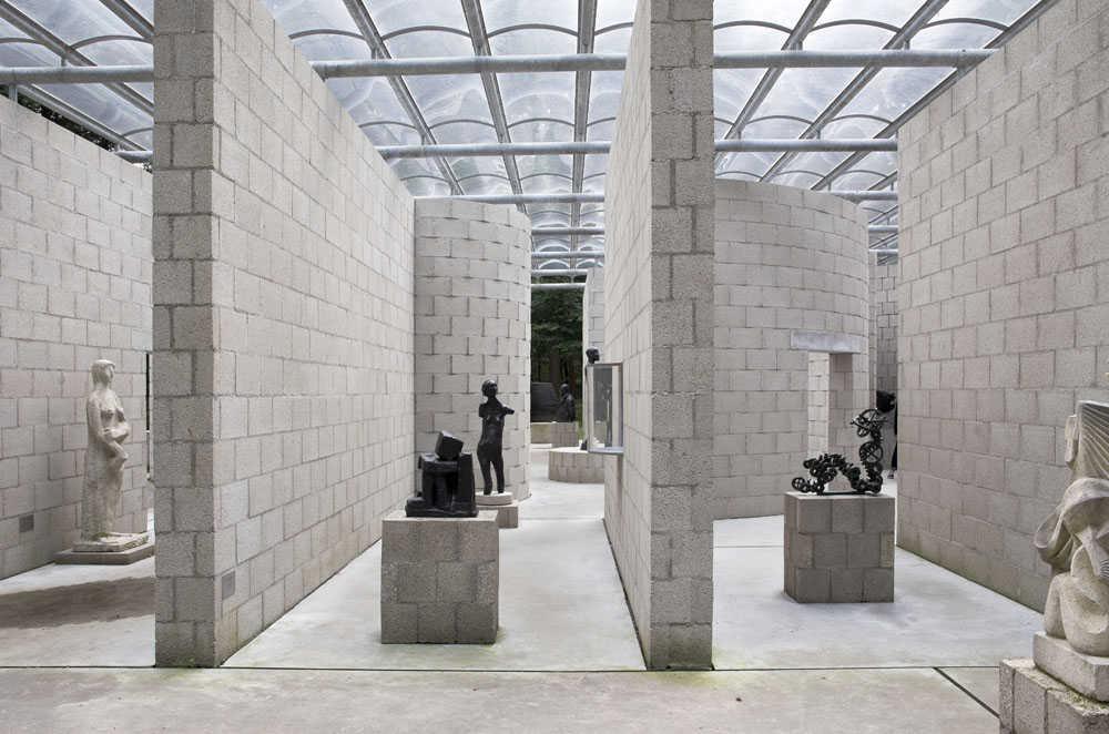 Sonsbeek Pavilion in Arnhem, Aldo Van Eyck (1966)