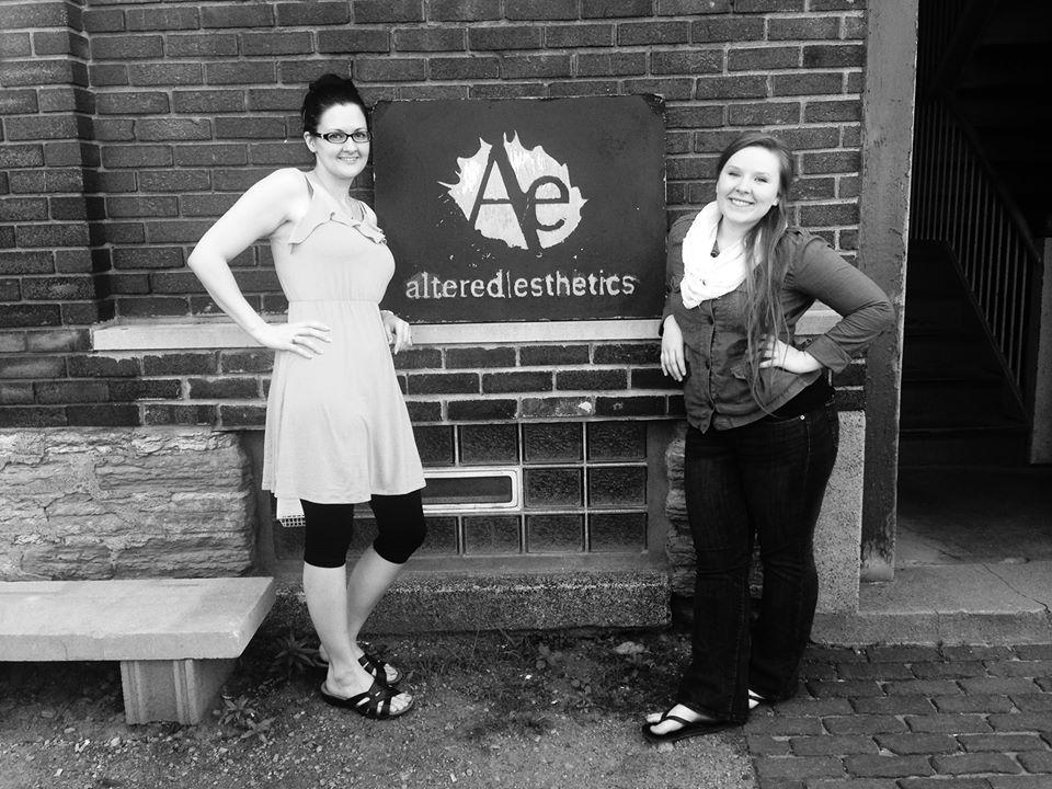 Altered Esthetics volunteers in 2013