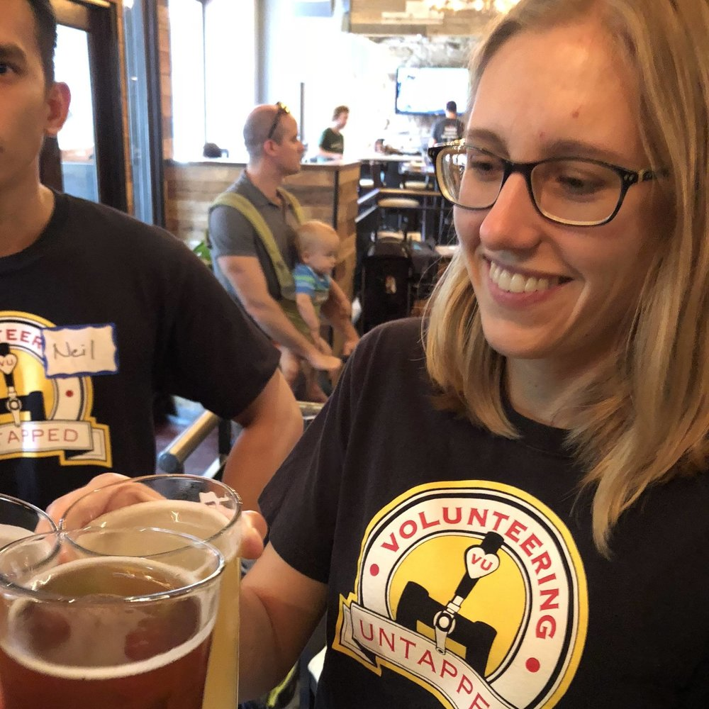 Even our friends from Chicago were out to #Voluntbeer with us!