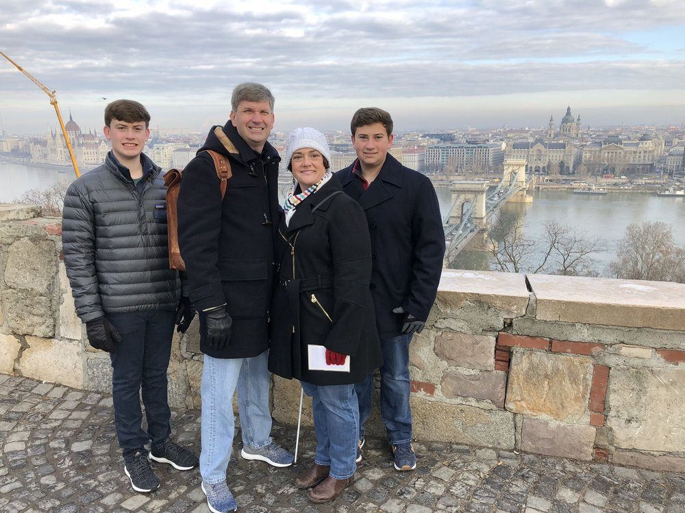 Exploring budapest, hungary with family