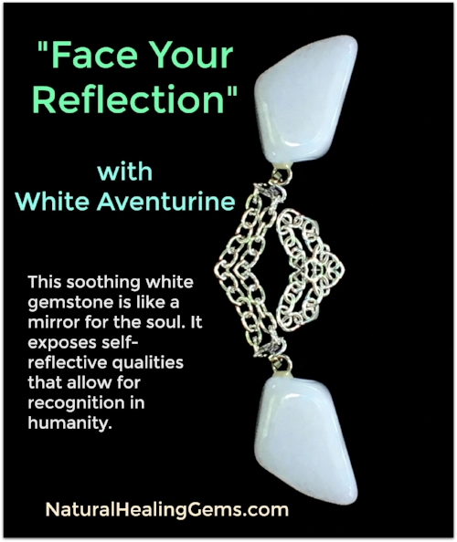 White Aventurine Gemstone Jewelry
