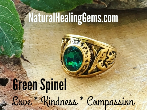 Green Spinel Gemstone Rings