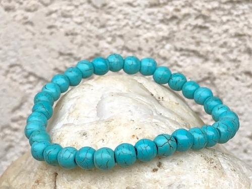Turquoise  natural cut pendant