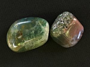 Moss Agate: Stone of Strength, Courage, Abundance  Chakras: Root, Heart  Zodiac: Virgo