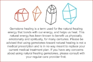 gemstone warning label