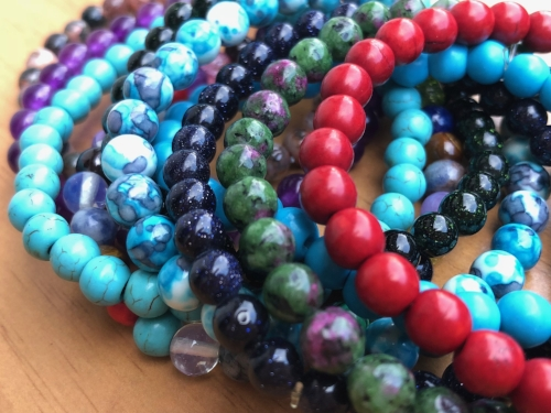 Semi-Precious Gemstone Jewelry with Natural Healing Benefits