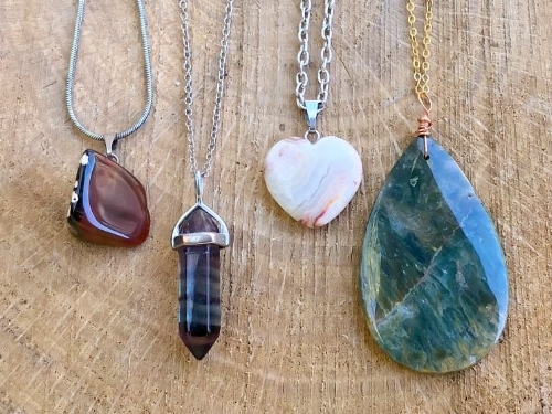 Semi-Precious Gemstone Jewelry with Natural Healing Benefits