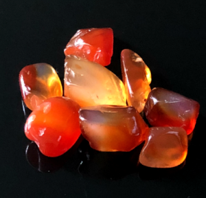 Carnelian: Stone of Creativity  Chakras: Base, Sacral  Zodiac: Taurus, Leo, Virgo