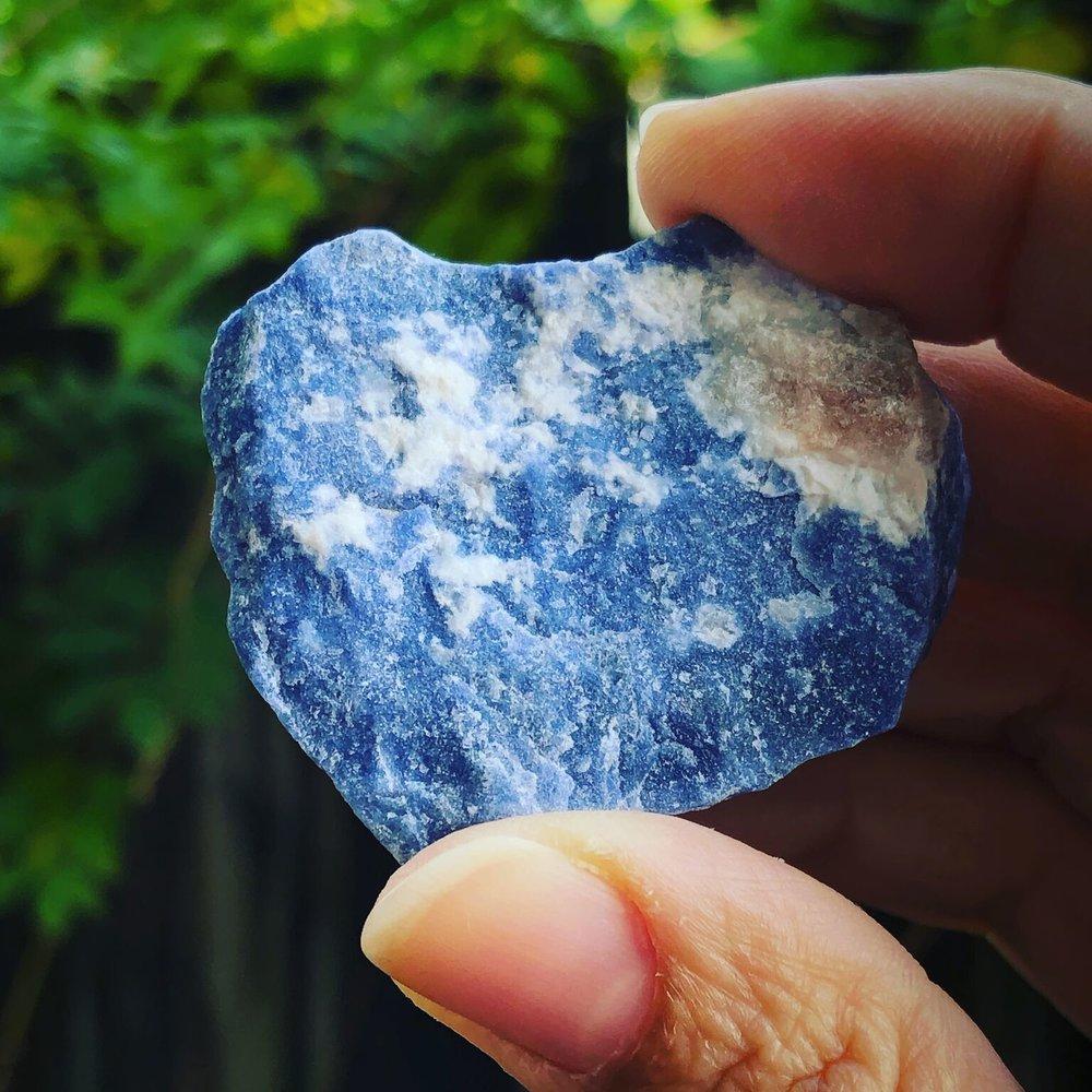 Sodalite healing