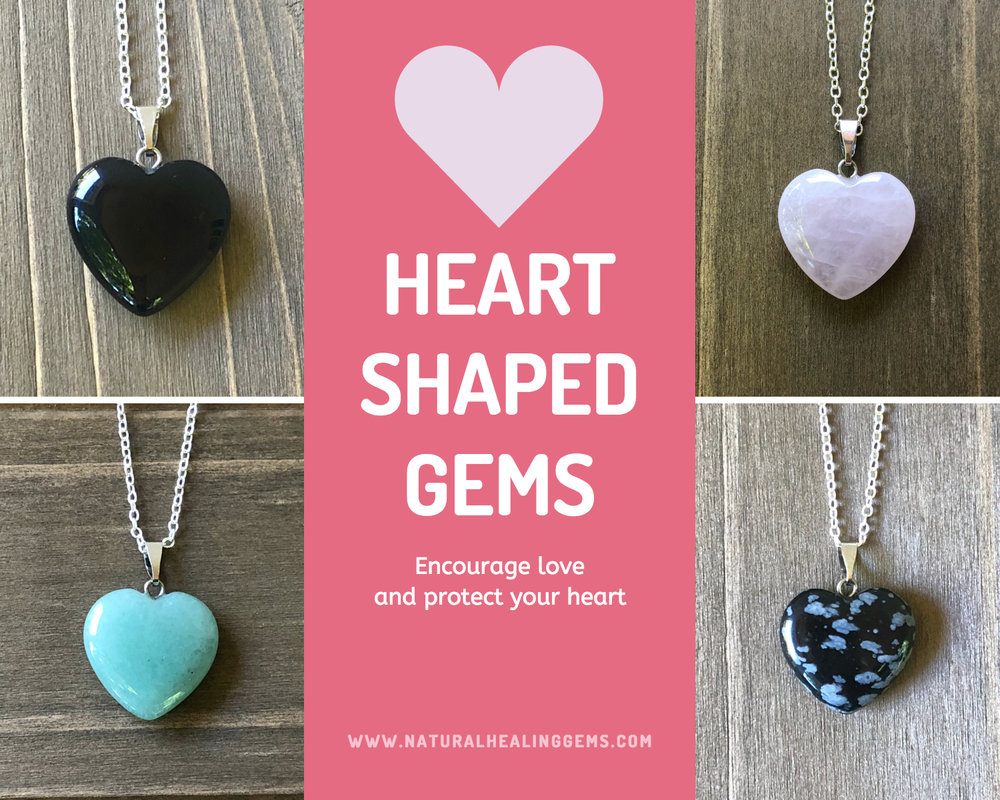 heart shaped gemstones