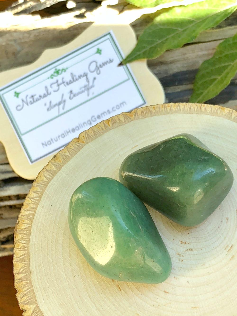 green aventurine healing