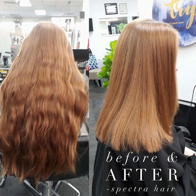 Hannah made a big decision today & Jean got the honours - they are both loving the beautiful results! ❤  #spectrahairpn #beforeandafter #redhead #palmerstonnorth #haircut #haircut #palmerstonnorthhairdresser #greathair #prettyhair #nofilter #nohairfilter
