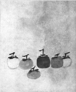 """""""Persimmons"""" ( Baltimore Review , spring 2012)"""