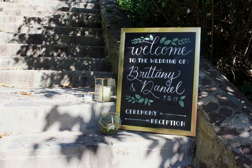 Large welcome Sign •  All designs customizable