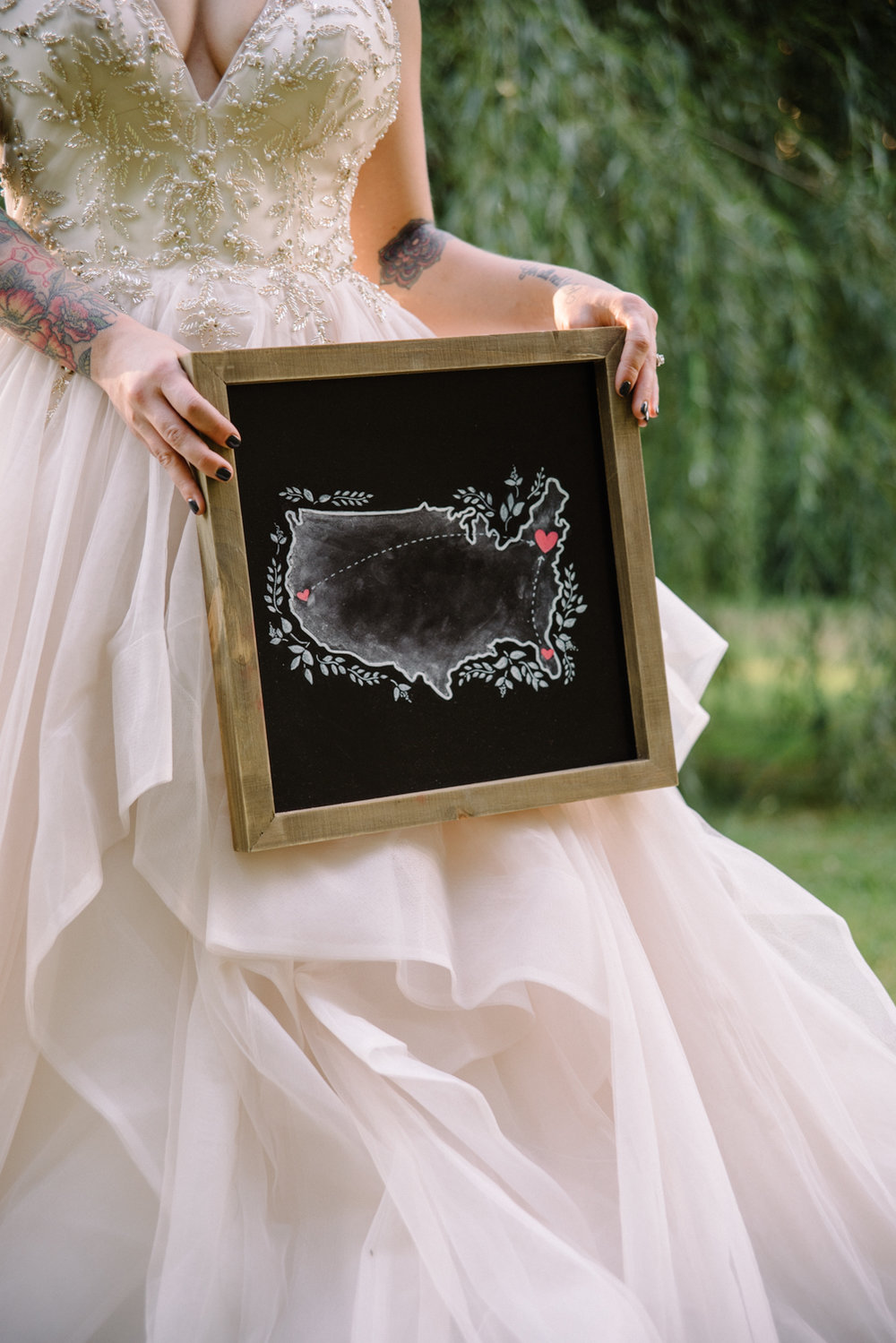 Medium Chalkboard •  Telling stories with illustrations