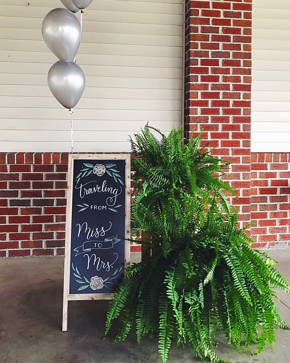 A-Frame Signs •  Perfect to welcome your guests