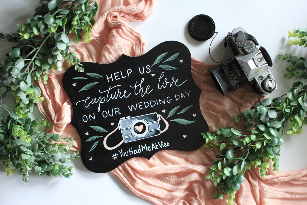Small Chalkboards •  Perfect for table tops