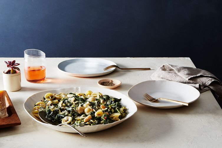 Pasta with Broccoli Rabe and White Bean Anchovy Sauce  (Bobbi Lin - Food52)