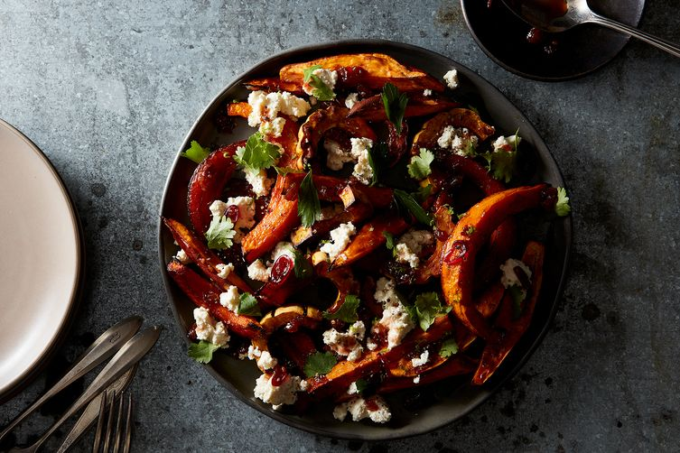 Orange Vegetable Pileup with Homemade Cottage Cheese  (Mark Weinberg - Food52)