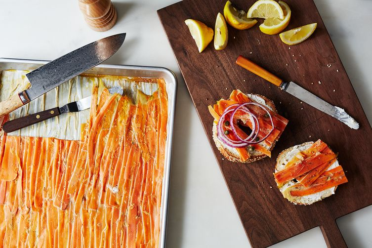 "Smoked Carrot ""Lox""  (Bobbi Lin - Food52)"