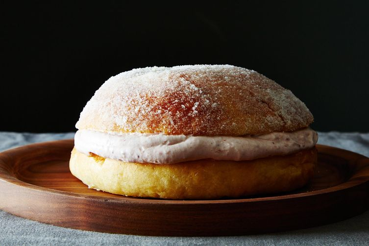 Sufganiyot Cake  (James Ransom - Food52)