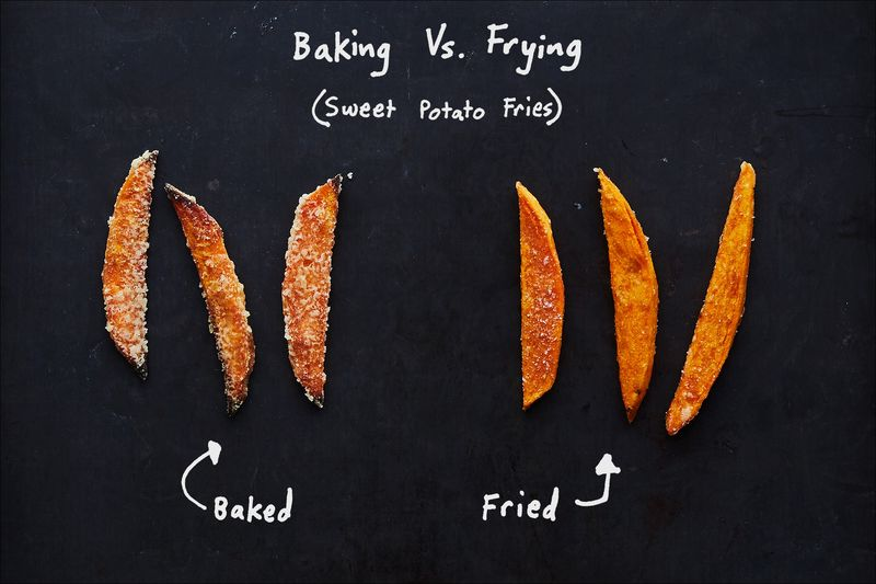 Can you bake when a recipe tells you to fry?