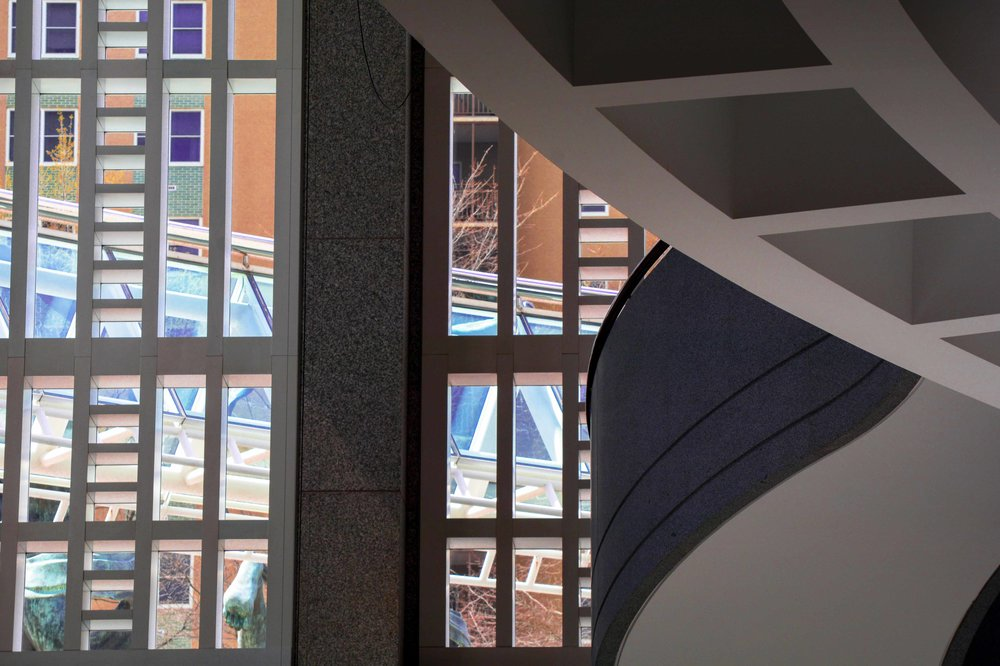 Stairway Suntrust Plaza View March, 2017