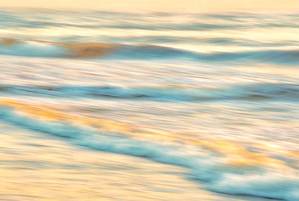 Sunrise Surf Panning Outer Banks, NC August, 2018