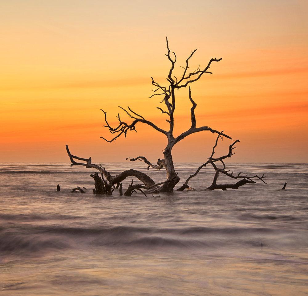 Hunting Island Dawn South Carolina March 9, 2019