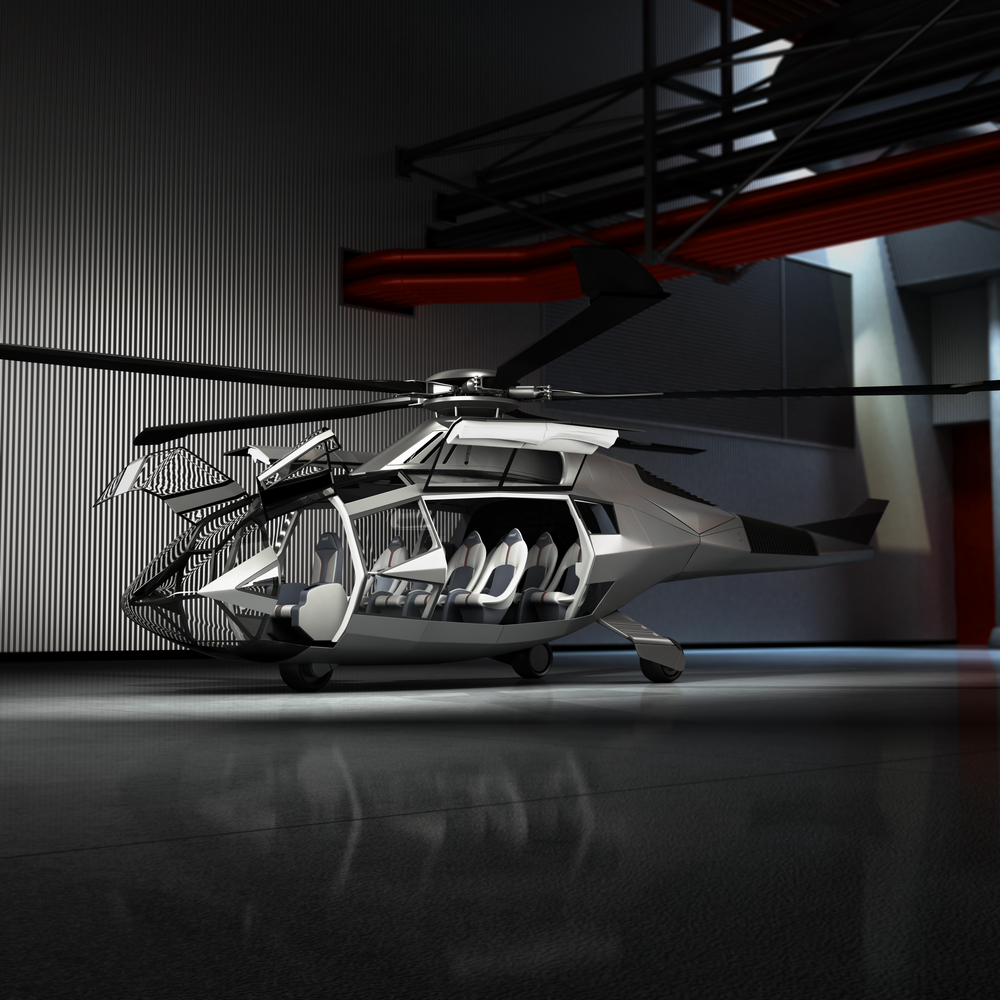 Bell Helicopter unveiled its sleek, futuristic FCX-001 concept machine at the Heli-Expo in Dallas.
