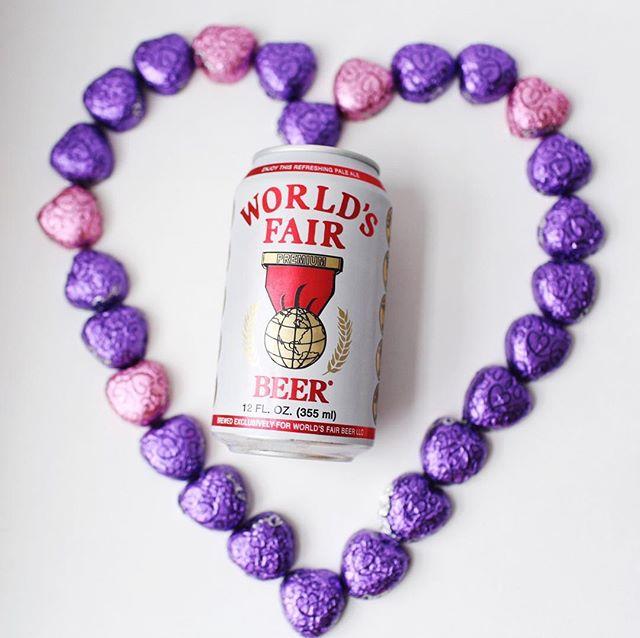 Love drunk.