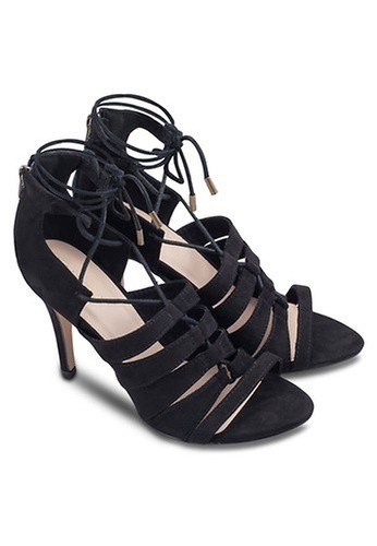 ZALORA Lace Up Heels