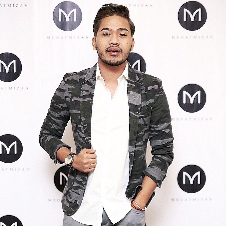 Megat Mizan, the designer
