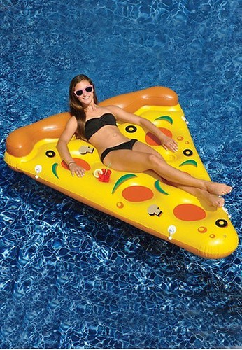 PINK N' PROPER The Inflatable Pizza Float