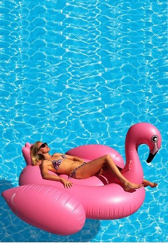 PINK N' PROPER The Inflatable Flamingo Float
