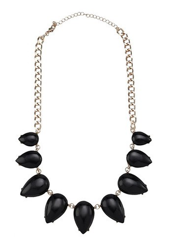 Call It Spring black Jericia Necklace