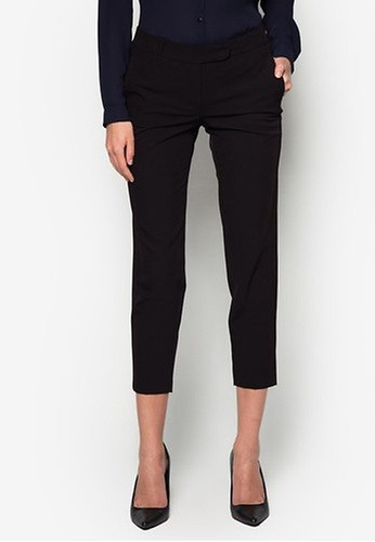 Dorothy Perkins black Black Ankle Grazer Trousers