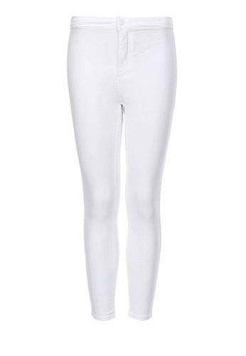 TOPSHOP PETITE MOTO White Joni Jeans