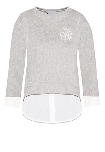 Mango Mixed Cotton Sweatshirt