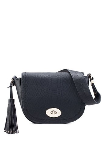 Call It Spring black Jerywet Cross Body Bag