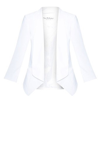 Miss Selfridge Ivory Waterfall Jacket
